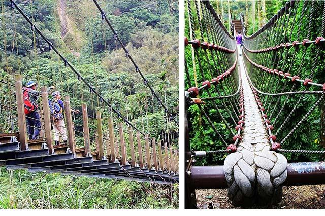 雲林華山小天梯、情人吊橋