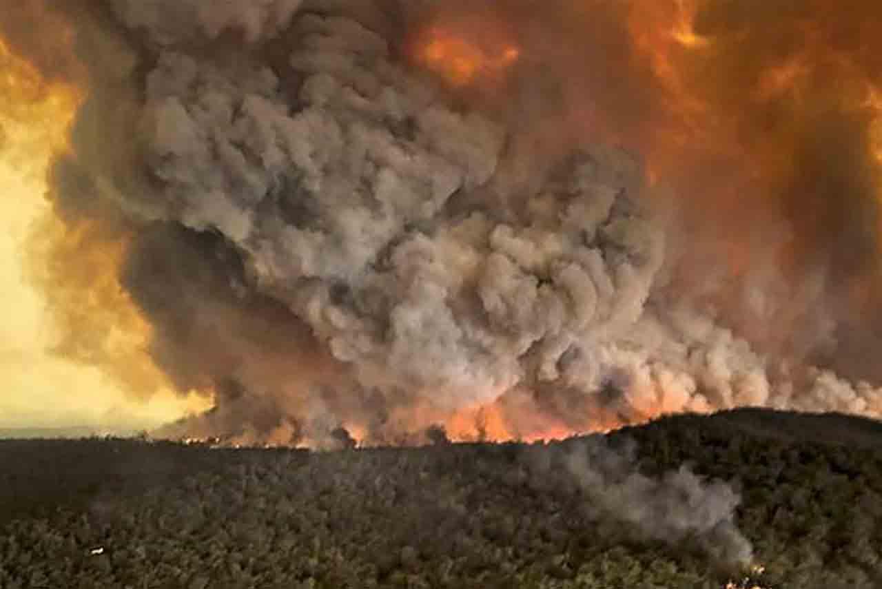 澳大利亞大火