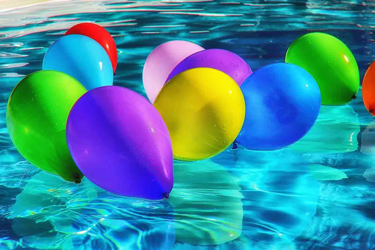 色彩繽紛氣球