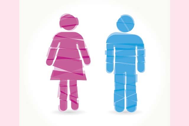 粉紅色=女生 藍色=男生?